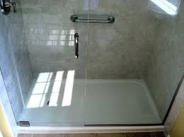 fiberglass shower stall with glass door acrylic shower stalls vs fiberglass fiberglass shower stall with glass