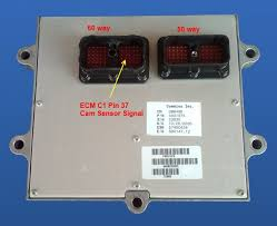 dodge mopar a wire to tach wire on ecm 24 dk blue gray pin Dodge Ram Ecm Wiring Diagram i have found that some of the wiring diagrams for the 07 6 7 engine are labeled incorrectly on the wire colors 2005 dodge ram 2500 ecm wiring diagram
