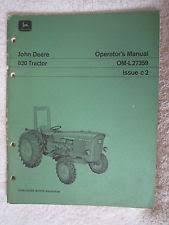 john deere tractor operators manual item 6 vintage original john deere 820 tractor operators manual