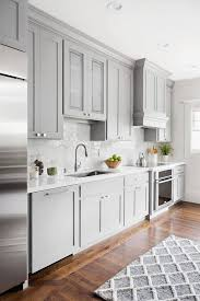 benjamin moore kitchen cabinet paintCharming Gray Kitchen Love The Shaker Cabinets And Hardware