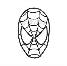 Spiderman Cake Template