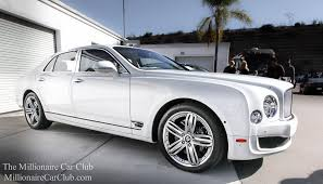 bentley mulsanne white. white bentley mulsanne by winning agent