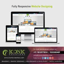 Iconic Website Design One Website Fits All At Iconic Creators We Provide