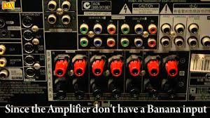 how to connect amplifier speakers using banana plugs how to connect amplifier speakers using banana plugs