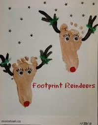 Easy DIY Mistletoes Baby Feet Christmas Craft Target Gift Card Christmas Crafts With Babies