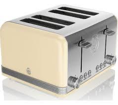 Retro Toasters buy swan retro st19020cn 4slice toaster cream free delivery 7158 by uwakikaiketsu.us