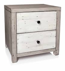 rustic white nightstand. Bedside Table (2 Drawer), Rustic White Nightstand
