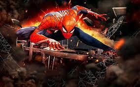 spiderman 3d art spider man
