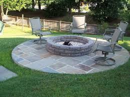 stone patio designs with fire pit 19 best outdoor fire pit kits images on