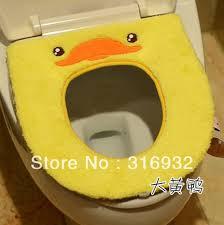 heated toilet seat cover. p2 plush rilakkuma series yellow chick duck cartoon toilet cover for seat heating mat heated
