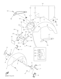 2013 yamaha v star 1300 xvs13adb fender parts best oem fender rh bikebandit 01 yamaha r1 wiring diagram silverado wiring diagram