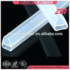 shower door plastic strip clear plastic glass shower door seal strip clear plastic glass shower door