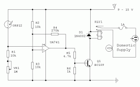 light dependent switch using orp12 photocell eeweb community light dependent switch using orp12 photocell