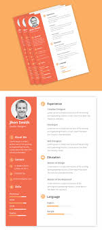 40 Best Free Modern Resume Cv Psd Ai Indesign Templates 20 Creative