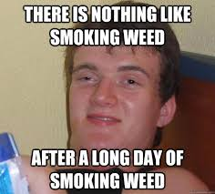 There is nothing like smoking weed after a long day of smoking ... via Relatably.com