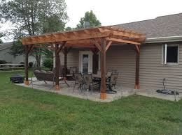 covered patio design plan