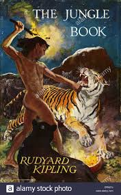 the jungle book by rudyard kipling book cover published 1959 macmillan london rk english author and poet 30 december
