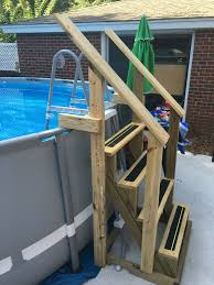 Image Deck Above Ground Pool Ideas Above Ground Swimming Pool With Deck Above Ground Pool Maintenance Above Ground Pool Landscaping Hacks Oval Sunken Designs Pinterest Above Ground Pool Swimming Pool Ideas Tips Pinterest In