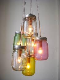 unique diy lighting. Image Of: DIY Light Fixture Mason Jar Unique Diy Lighting D