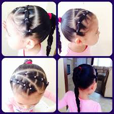 Hairstyles For Little Kids Little Girls Hair Style My Creation Miris Things Pinterest