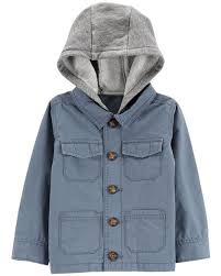 Display product reviews for Hooded Button-Front Jacket Toddler Boy Rain Coats, Jackets \u0026 Outerwear | Carter\u0027s Free Shipping