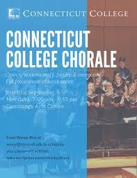 arts culture acirc middot connecticut college ccchoirs