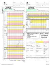 Fillable Online Paediatric Observation Chart 3 12 Months Fax
