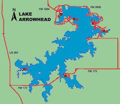 Lake Arrowhead Depth Chart Lake Arrowhead
