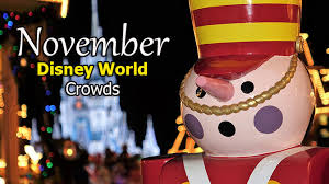 Disney World Crowd Calendar November 2019 Kennythepirate Com