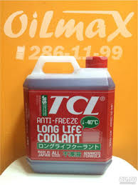 <b>Антифриз TCL</b> LLC (<b>Long Life</b> Coolant) Япония красный -40 C, 4 ...