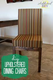 Upholstered Dining Chairs  Discount Dining Room Sets Make Your Own With  These DIY Projects
