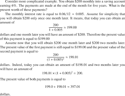 Simple Cash Flows Two Equal Simple Cash Flows Download Table