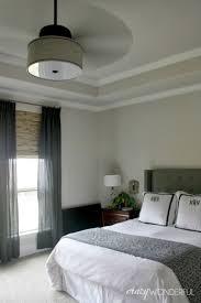 Lamp Rubbed Bronze Ceiling Fan 3 Blade Ceiling Fan With Light