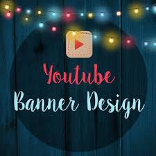 Custom Youtube Banner Design Youtube Channel Art Custom Youtube Cover Design