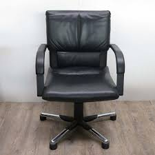 leather office. Leather Office Armchair By Mario Bellini For Vitra, 1995