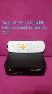 Balat içinde, ikinci el satılık Turkcell TV Plus 4K kutusu