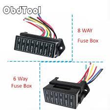 6,8 way dc 12v volt fuse box 24v 32v circuit car trailer auto blade fuse box 2012 vw cc 6,8 way dc 12v volt fuse box 24v 32v circuit car trailer auto blade