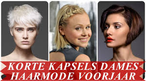 Moderne Korte Kapsels Dames Haarmode Voorjaar 2018