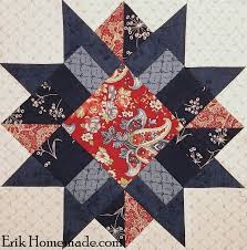 Boston Star Block | quilt blocks | Pinterest | Star, Patterns and ... & FREE Boston Star Block Pattern different colors Adamdwight.com