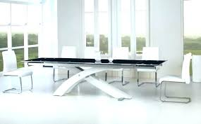 modern glass dining table contemporary glass dining room tables beautiful modern white table interior design sets