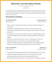 Teaching Resume Templates Extraordinary Elementary Teacher Resume Template Pattern For Trainer Sample Free