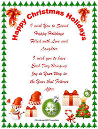 Holiday Templates For Word Free Microsoft Office Christmas Templates Free Holiday Word Template