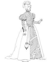 Elsa Jurk Kleurplaat Disegno Moda11 Categoria Persone Da Colorare