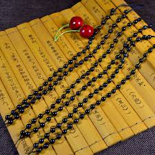 get ations natural obsidian beads chain necklace pendant necklace men ock male buddha pendant jade pendant bead chain