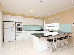 Impressive Modern Kitchen With White Appliances Modern Kitchen With Magnificent Modern Kitchen With White Appliances