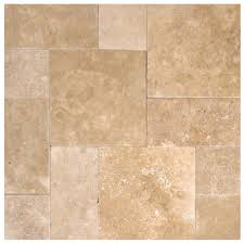 tuscany walnut travertine tumbled in versailles french pattern pavers for driveway pool deck and patio