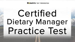 dietary manager job description certified dietary manager practice test youtube