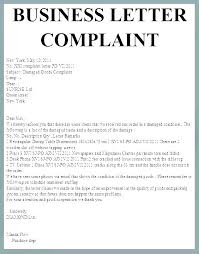 Business Complaint Respond Letter Template Reply To Customer Format