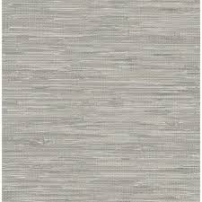 brewster natalie grey faux grasscloth wallpaper