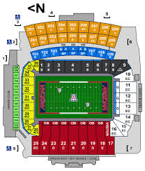 Arizona Stadium Seating Chart University Of Arizona Football Stadium Seating Chart Elcho